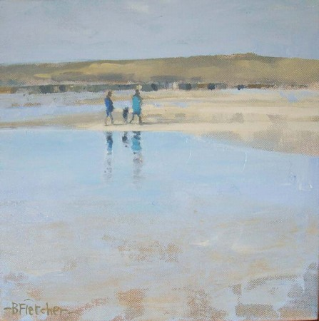 Walk at Low Tide, Gwithian